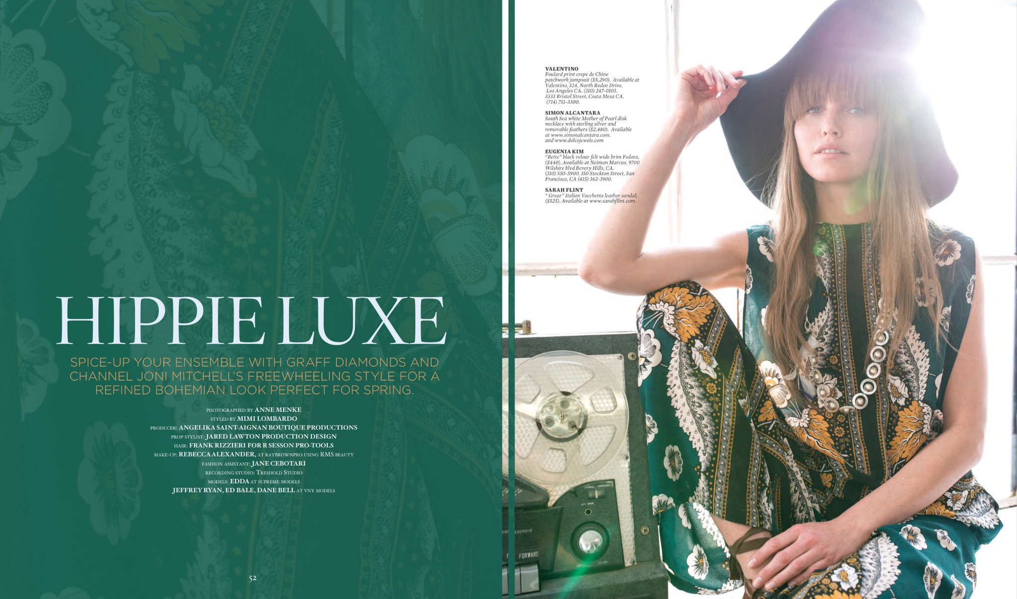 HAUTE LIVING, MARCH-APRIL 2015, NY , LA, SF, MIAMI