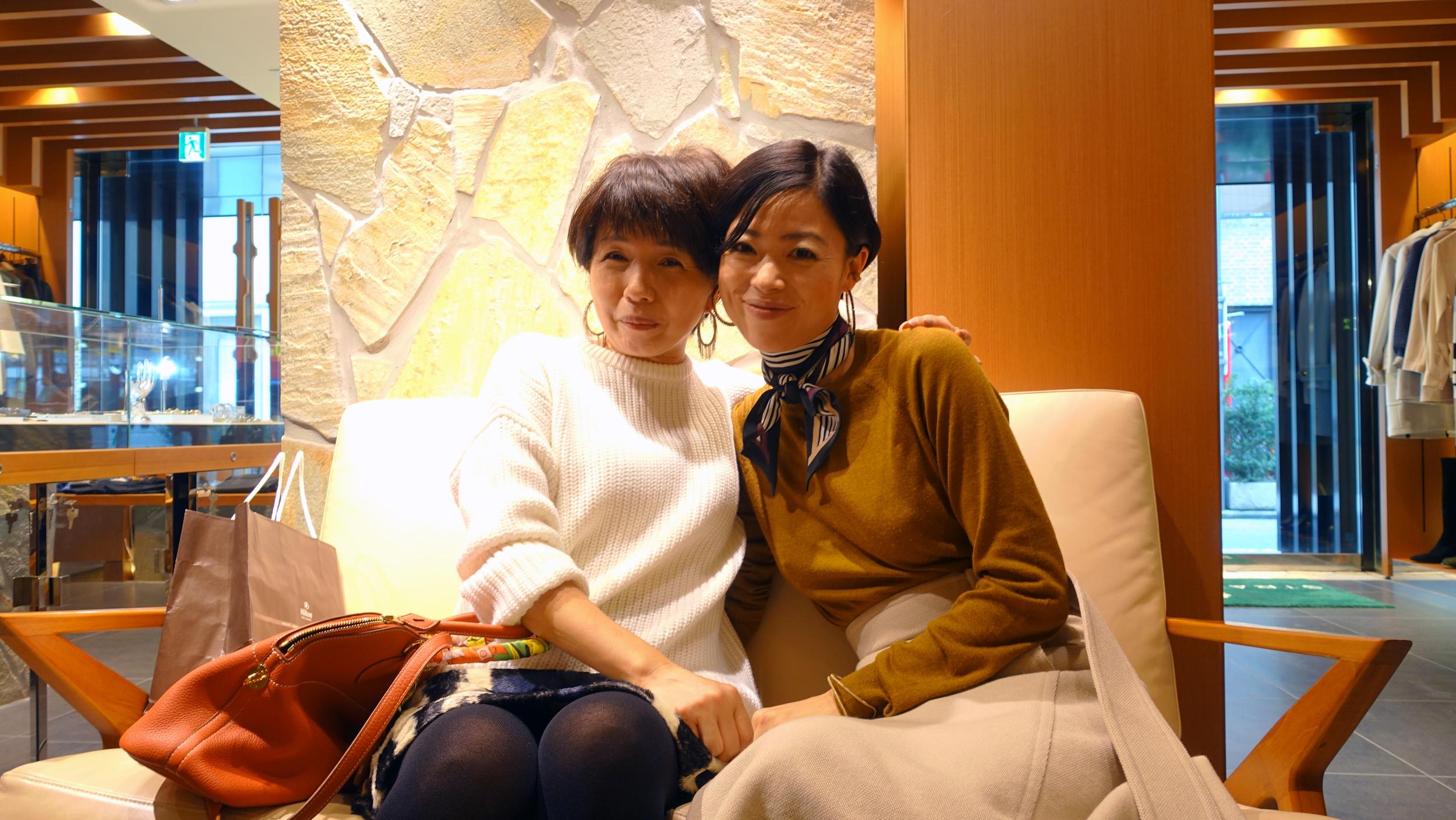 Yoko Nakamatsu and Hono Uehara, Women's Fashion Director