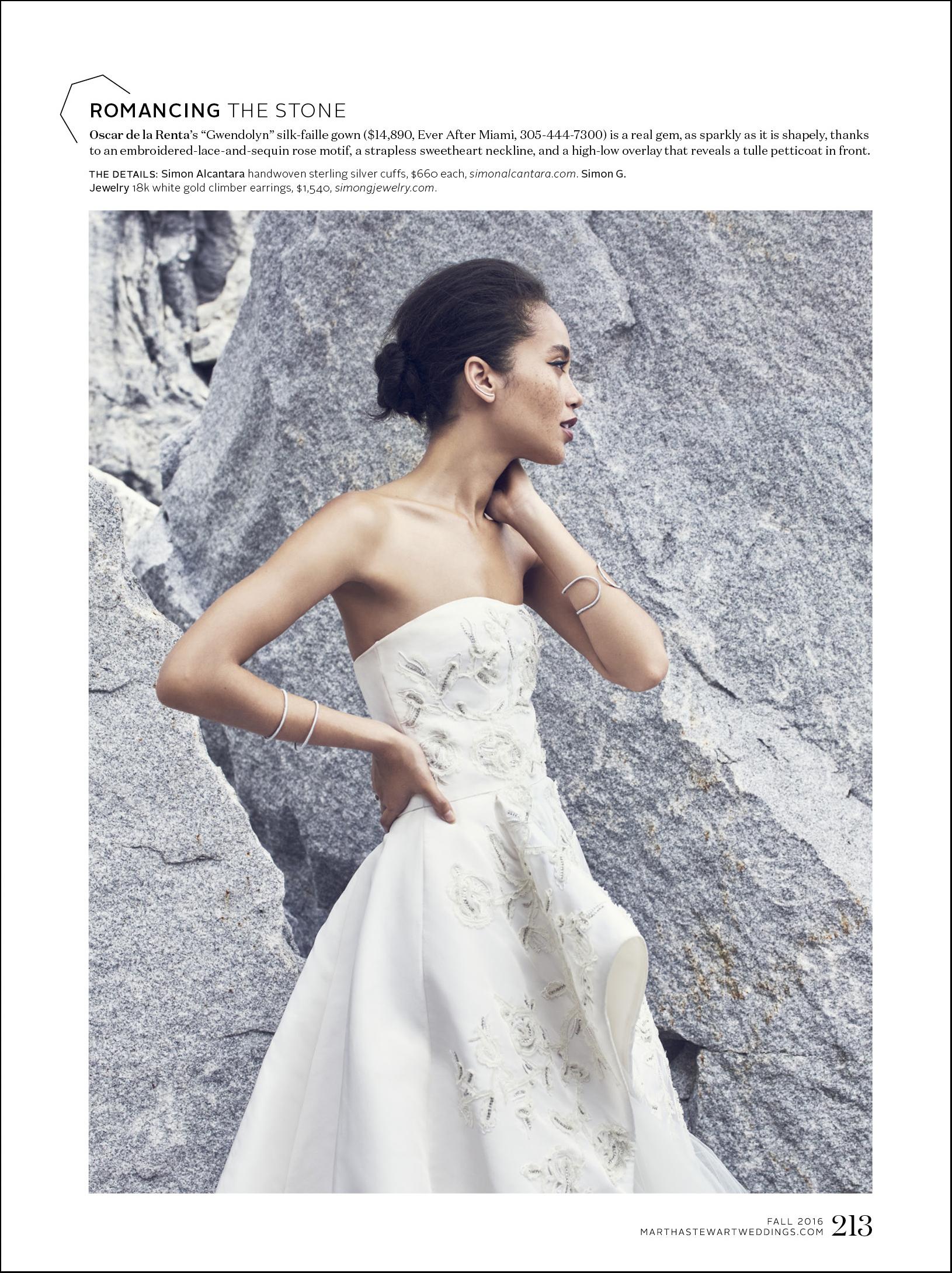 MARTHA STEWART WEDDINGS FALL 2016 ISSUE