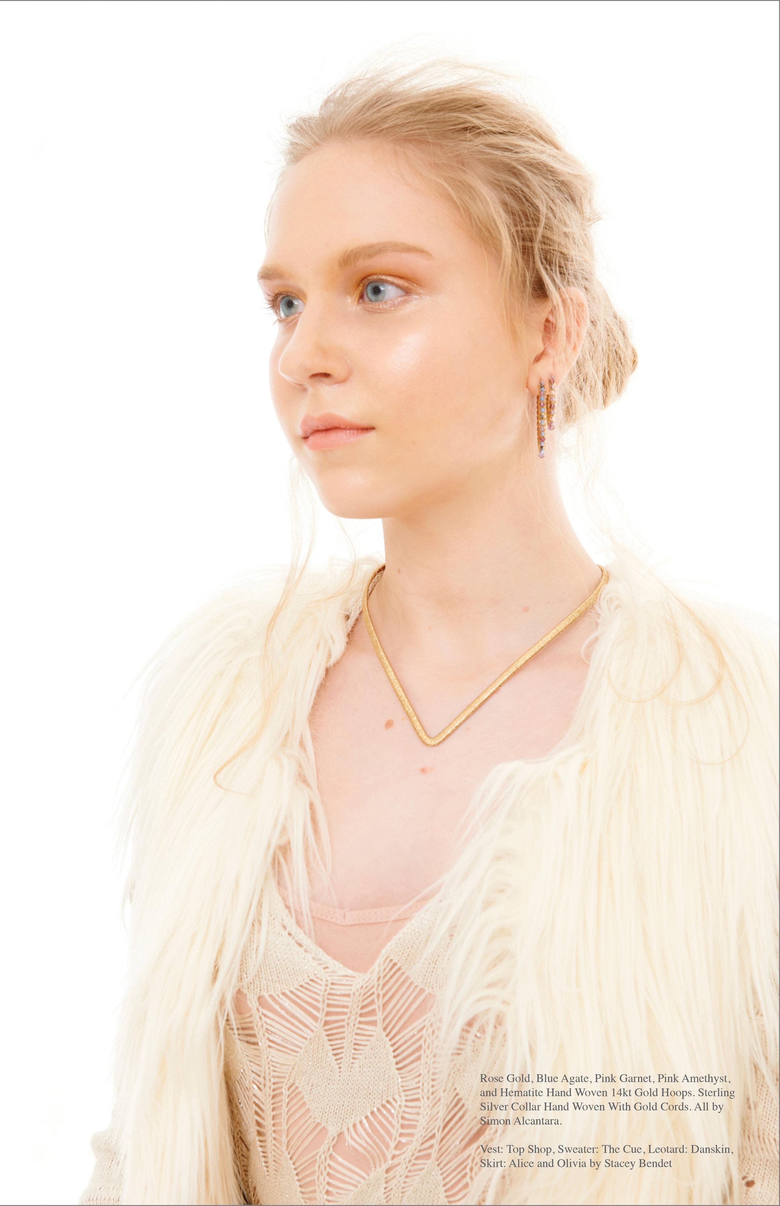 Photo: Ann Lee Campbell, Model Nan Venderbush, Makeup by Griselle Rosario