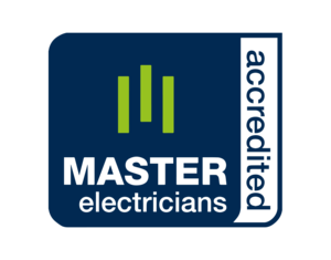 Click to visit the  Master Electricians  website.  Master Electrician Accreditation  since 15/10/2010 #00479