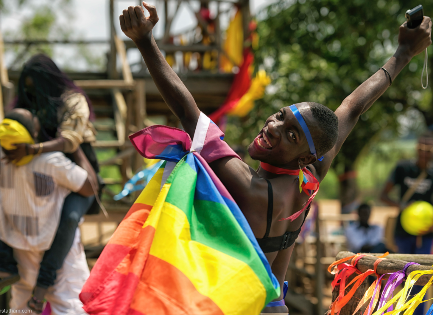 LGBTQ pride - entebbe, uganda