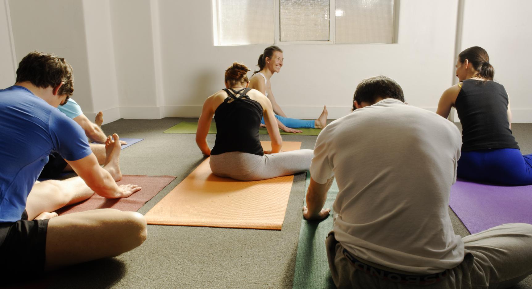 At Work Yoga