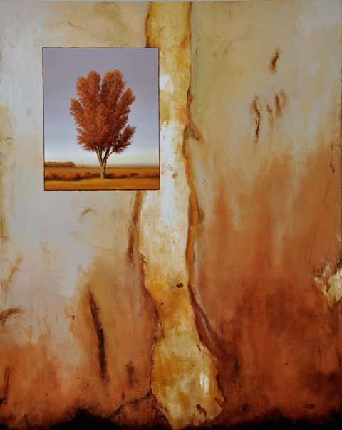 scott duce  thorn  60 x 48 inches oil on canvas