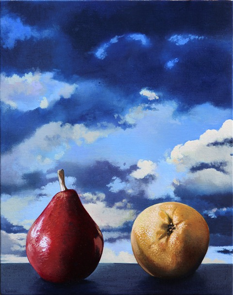 sw787.Two Pears,night,14x11,2013.jpg