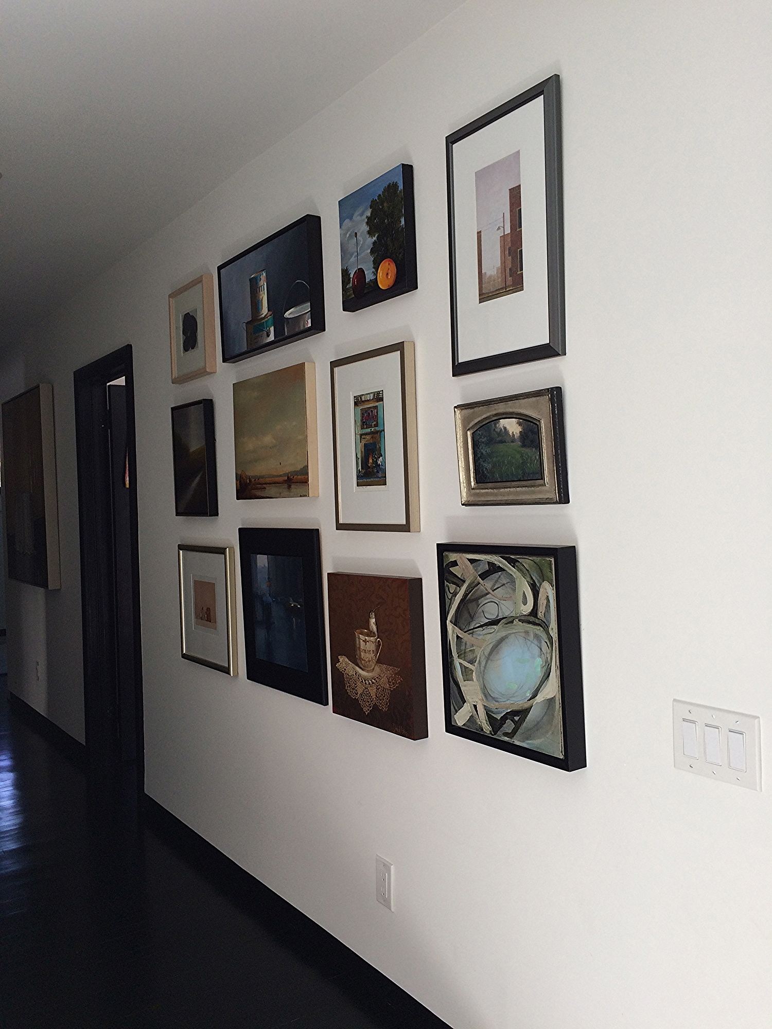 katharine's gallery wall
