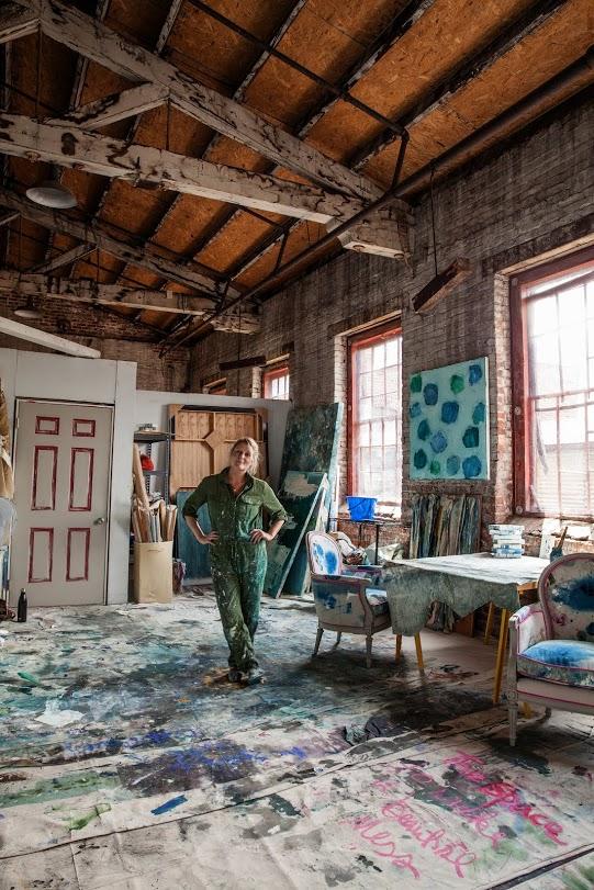 kiki in her studio photo by jimmy johnston