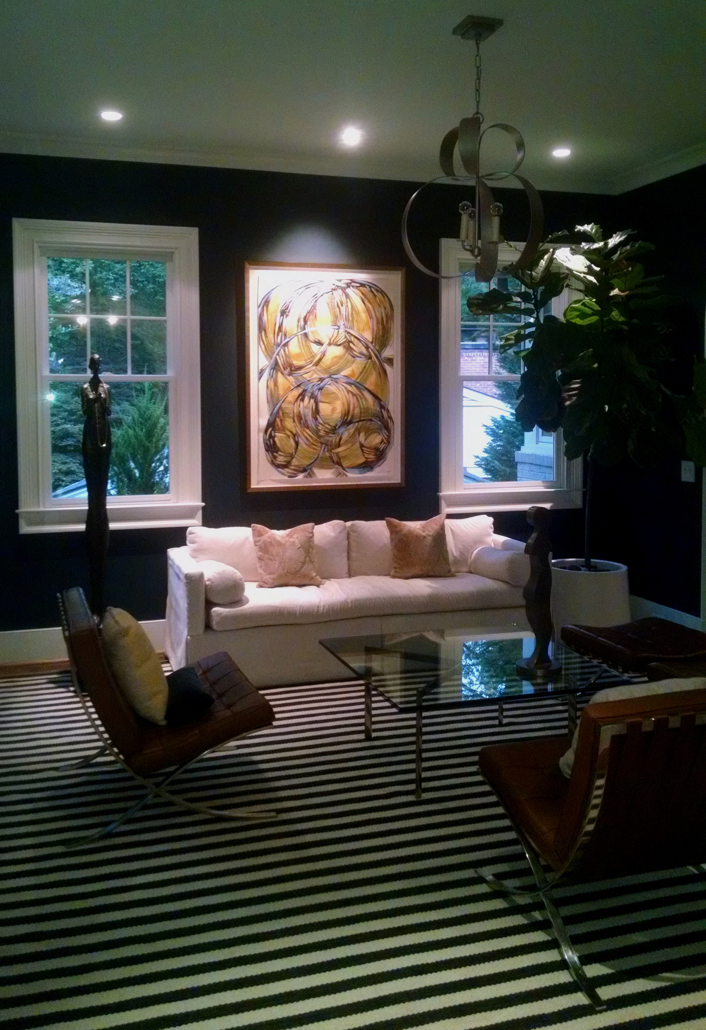 recently installed drawing by amanda talley in atlanta