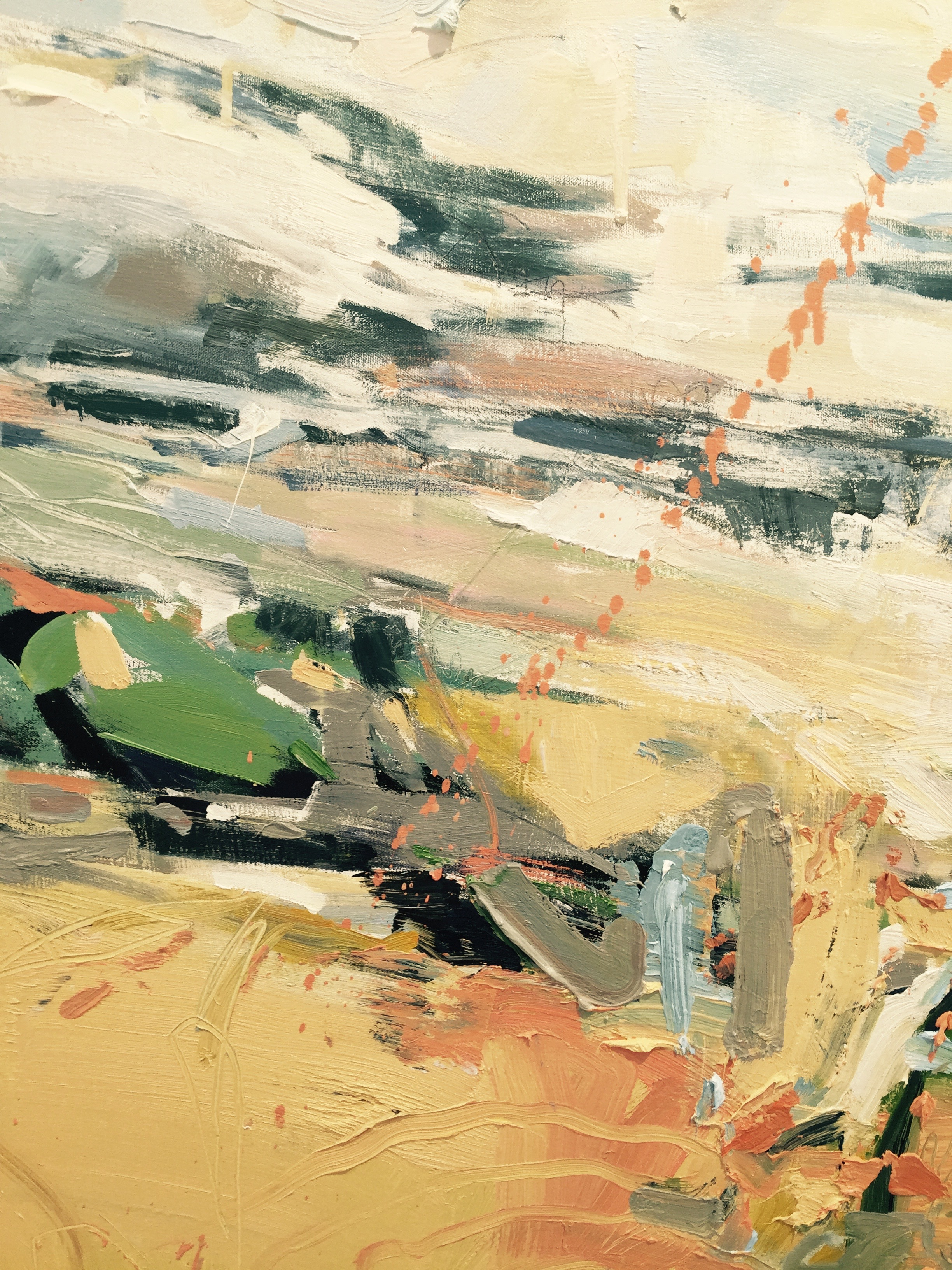 detail of  clouded hills  by susan mcalister