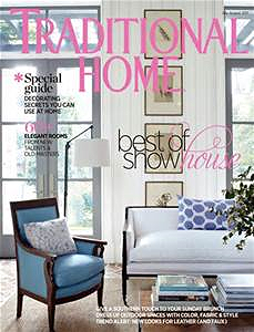 october issue of traditional home