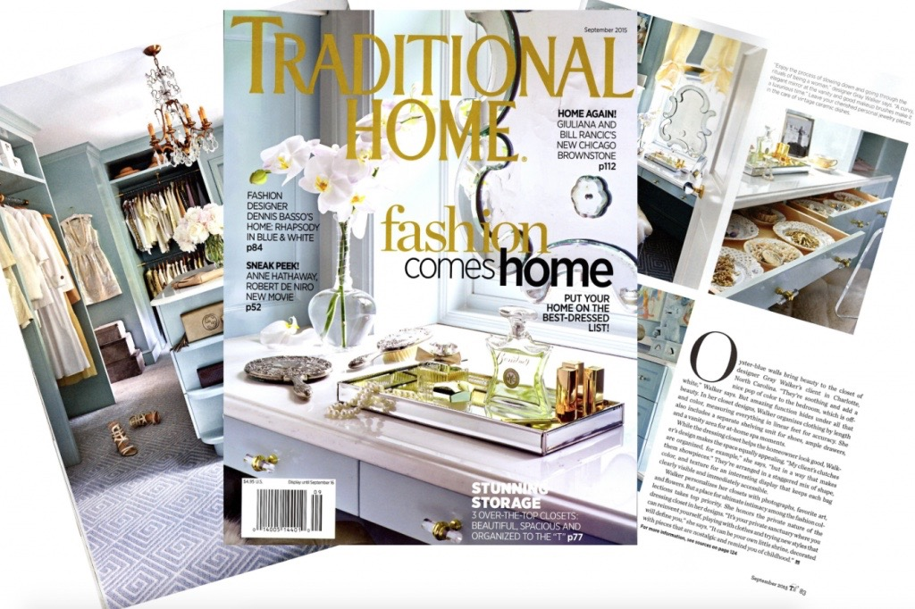 september cover of traditional home