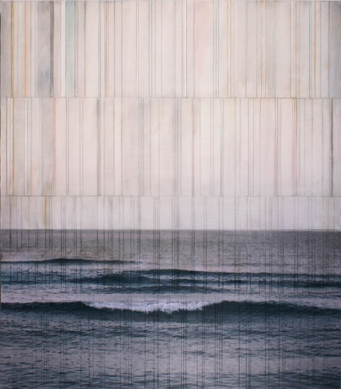 billboard atlantic #19 2015 |pigment print on board with oil & wax |48 x 42 inches