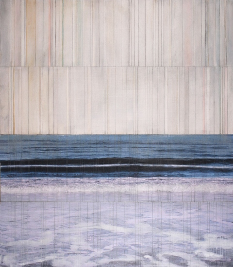 billboard atlantic #17 2015 |pigment print on board with oil & wax |48 x 42 inches