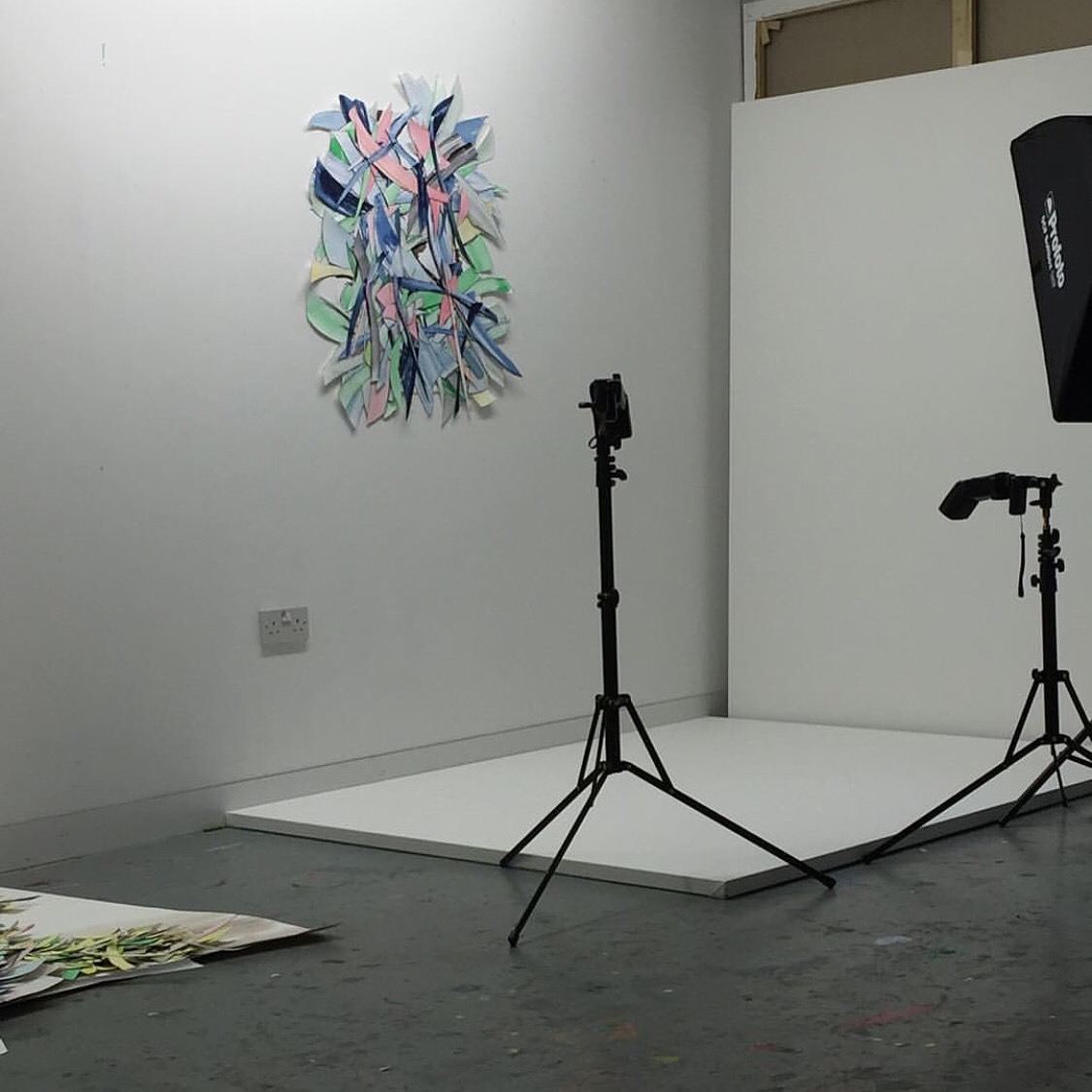 selena beaudry  is busy photographing  just paper opening march 2016