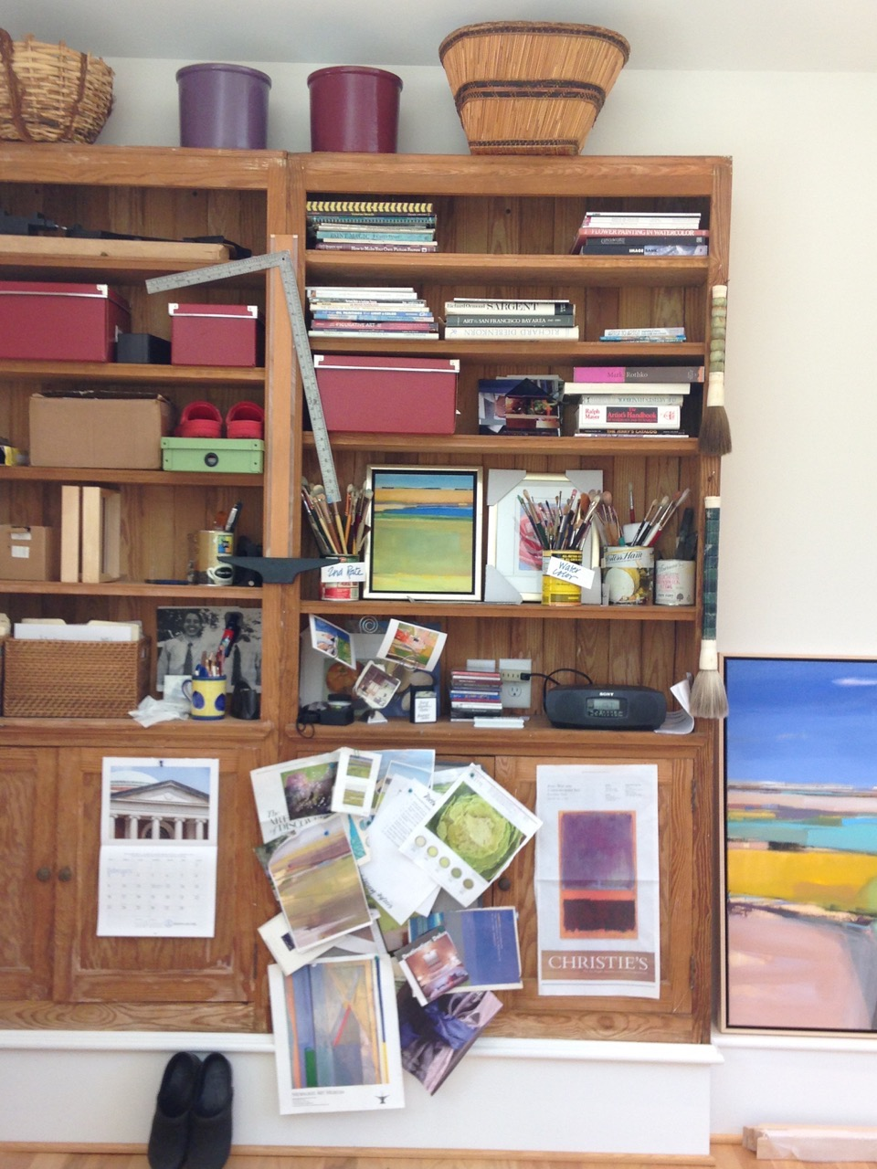 mary rountree moore's studio in chapel hill