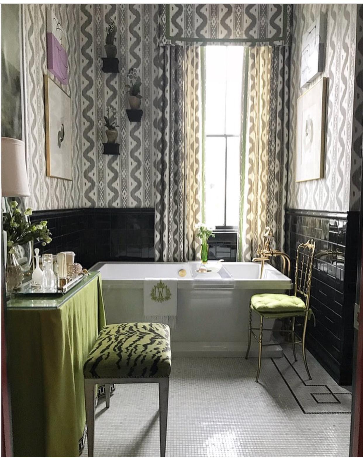 master bath by bear hill interiors