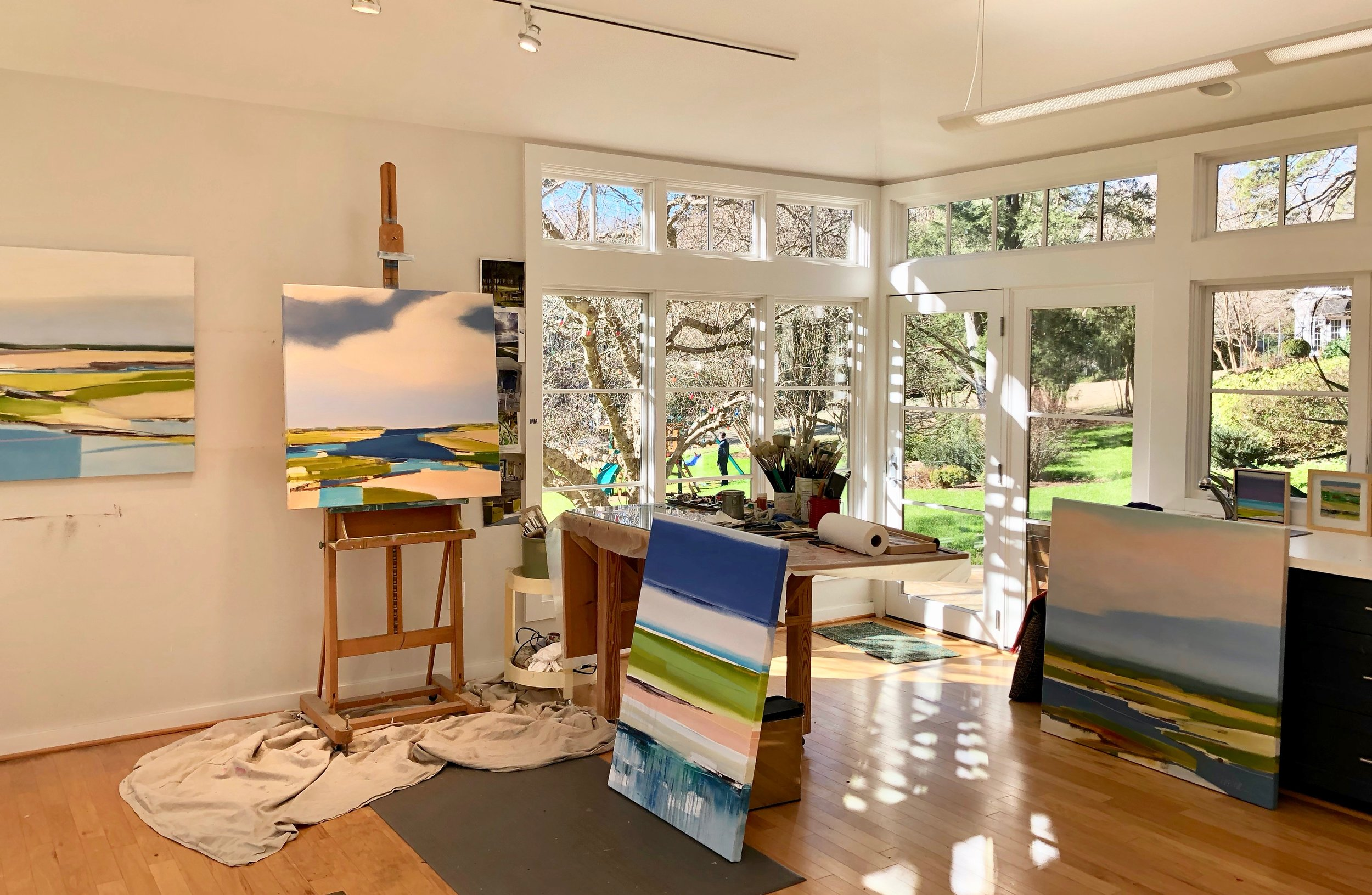 mary rountree moore's studio in chapel hill, nc
