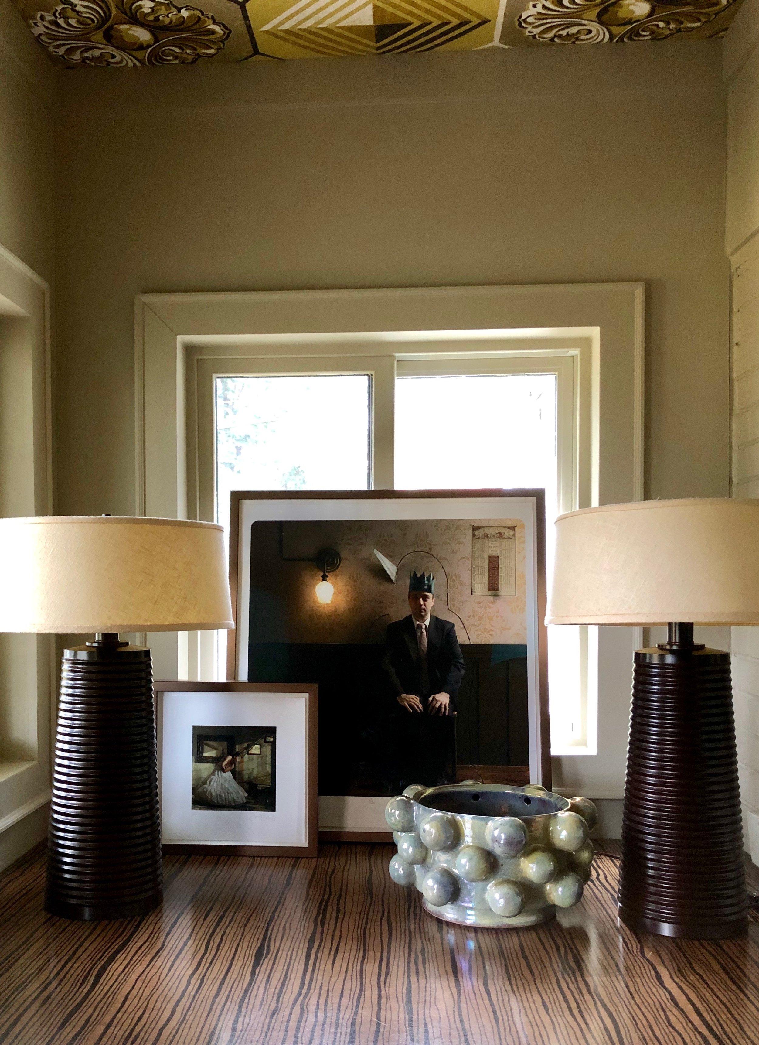 photographs by jamie baldridge + ceramic vase by virginia scotchie