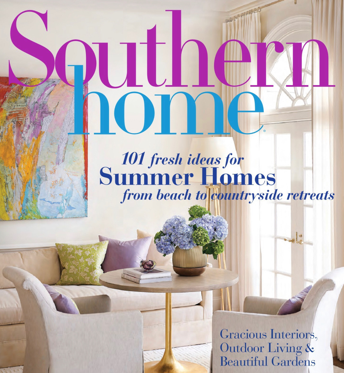 southern home magazine july/august issue