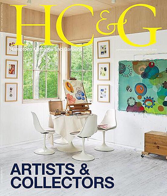 hamptons cottages and gardens july/august issue