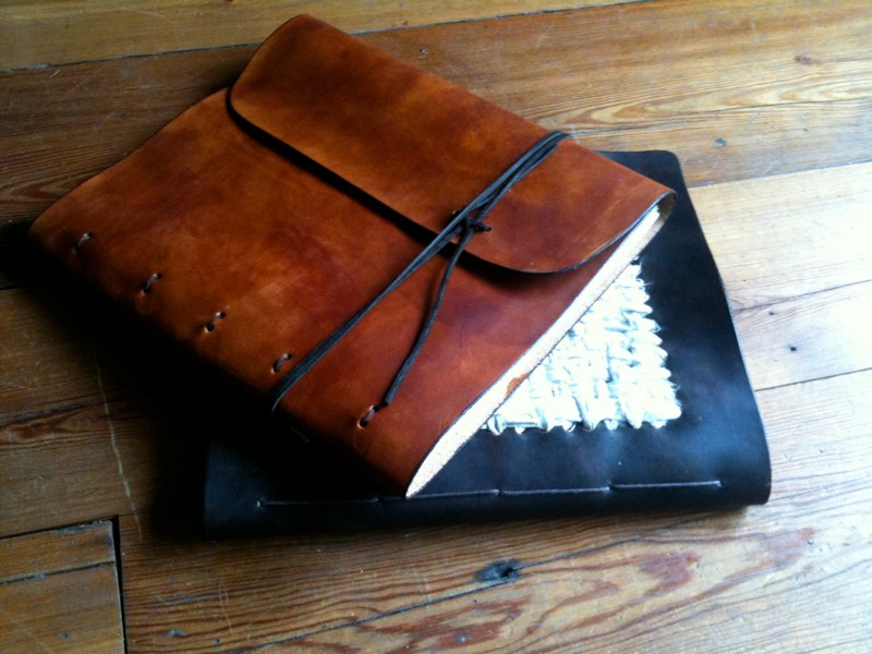 hand made and bound journal $275