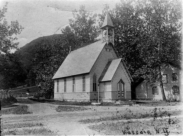 Old Cross Road and Gridley Chapel