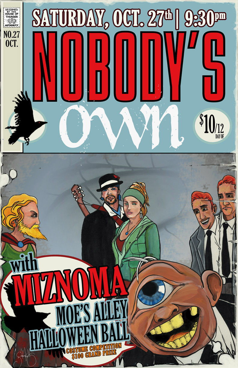 Nobody's Own October 27th