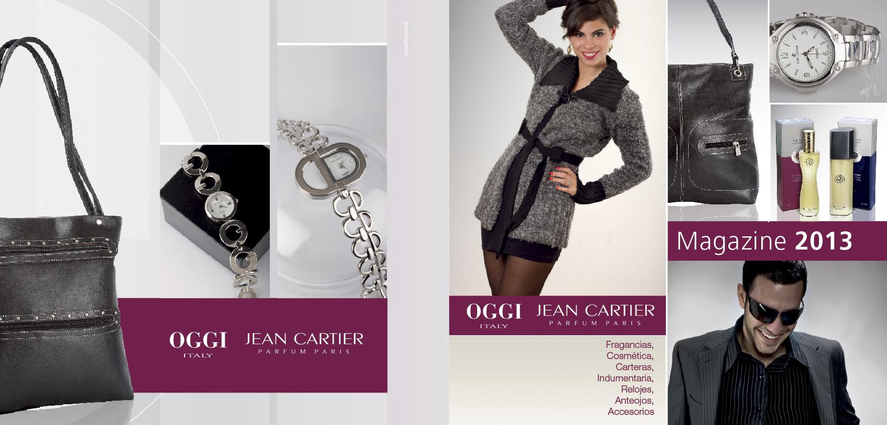 Tapa Catálogo Oggi / jean Cartier