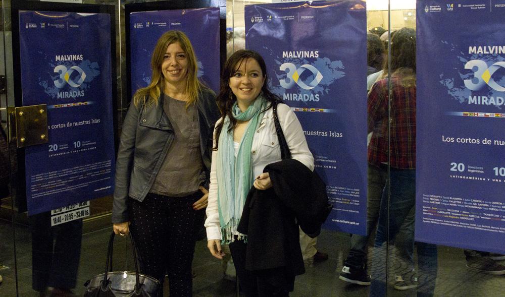 Carina Vivaldi y Cintia Donoso Coautoras del diseño.