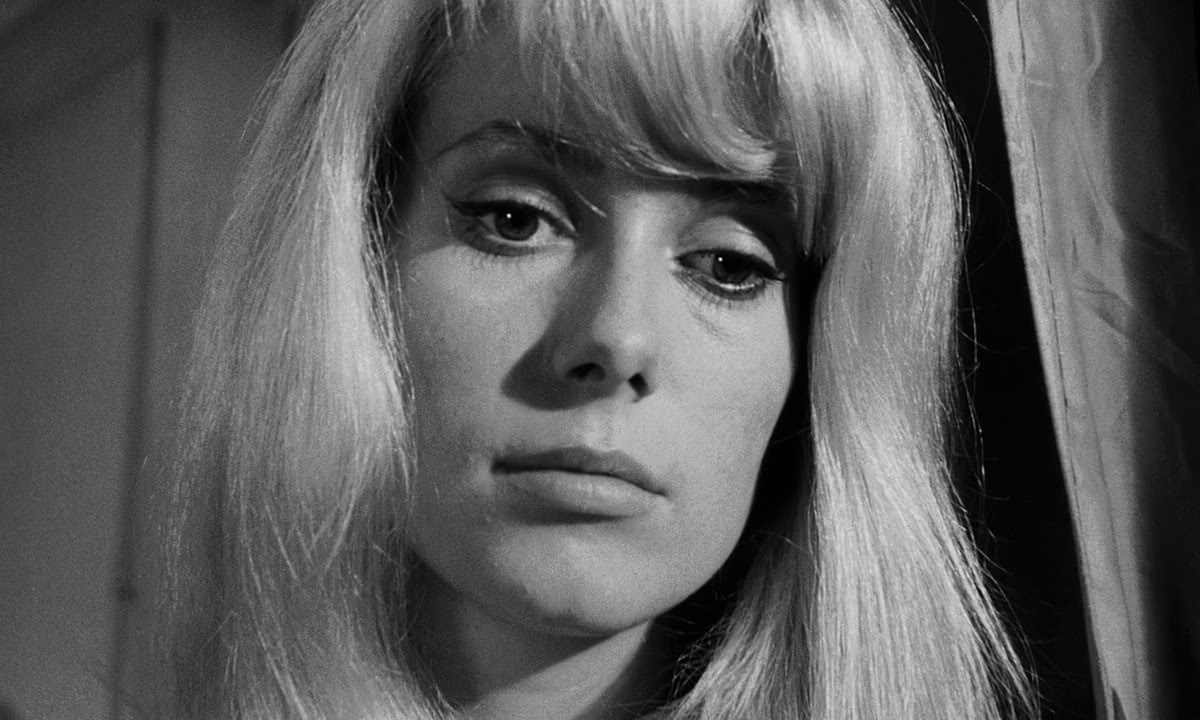 Catherine Deneuve in Roman Polanski's Repulsion (1965).