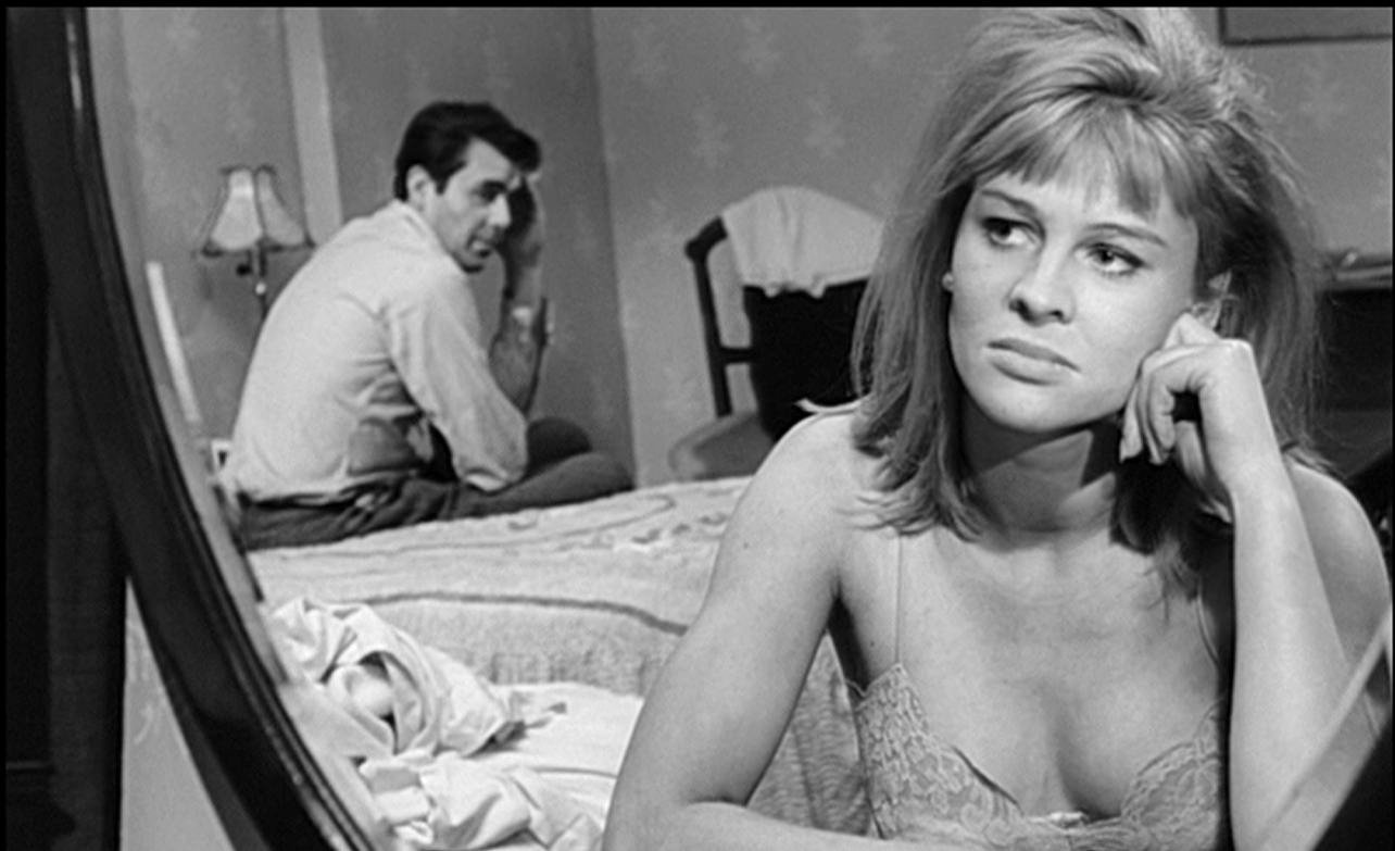 A glass world - Julie Christie and Dirk Bogarde in  Darling