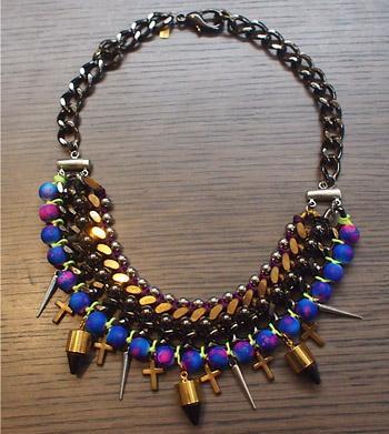 Cuchara necklace $160.