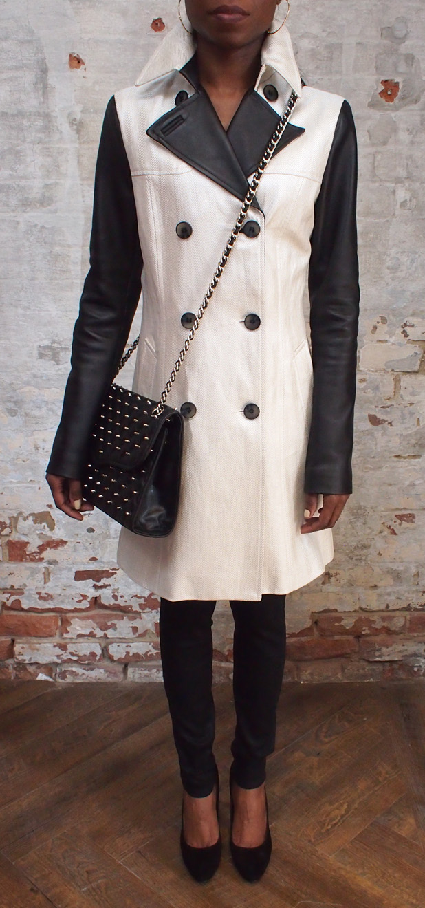 Mackage trench $630.