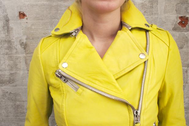 Mackage Perfecto jacket $750.
