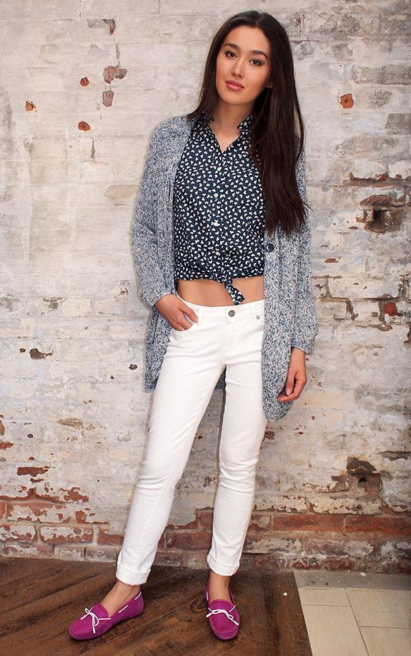 Ganni sweater $299,Benson shirt $98,Paige jeans $215, SWIMSshoes 159