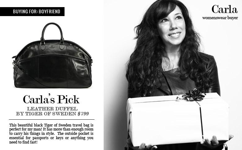 Tiger of Sweden Weekend Leather Bag: $799.00   Shop Now