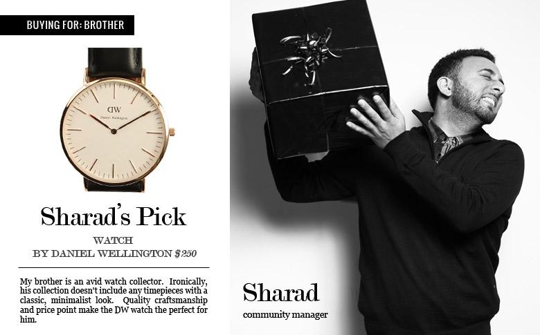 Daniel Wellington Sheffield Watch: $250.00   Shop Now
