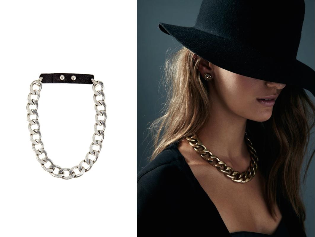 Riri Collar - Silver $125
