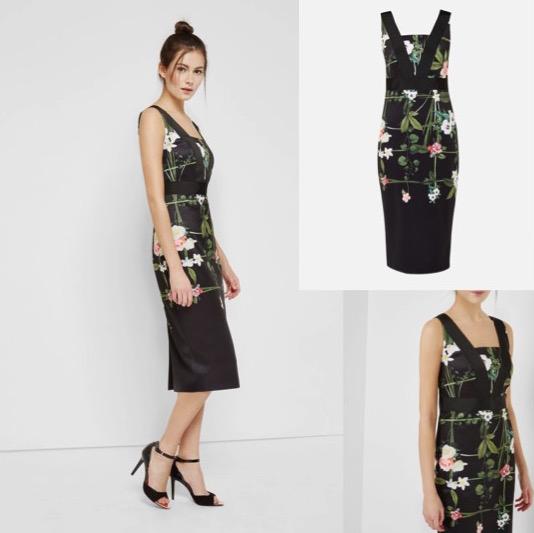 Printed Bodycon Dress $359