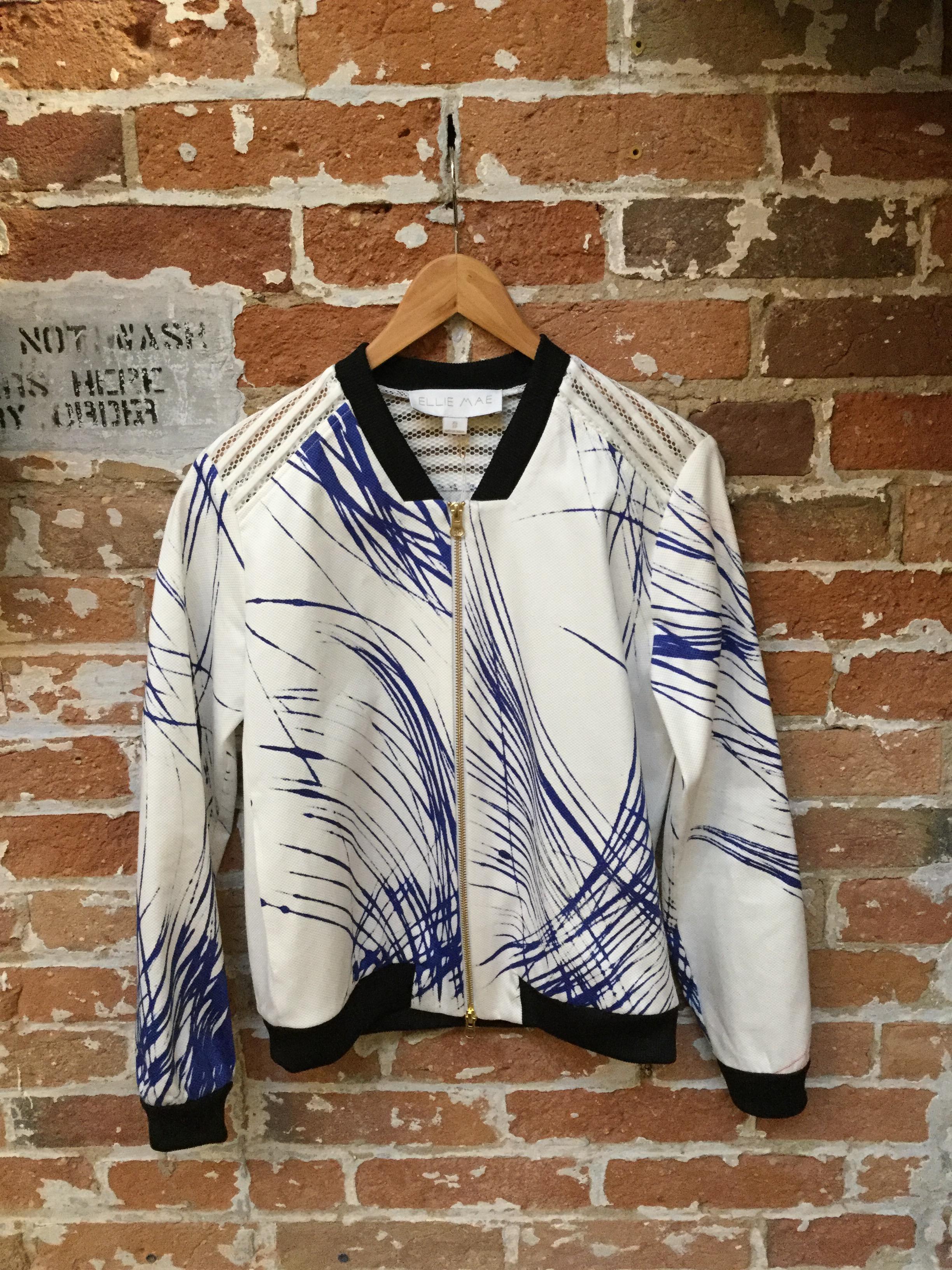 Ellie Mae Bomber Jacket $545