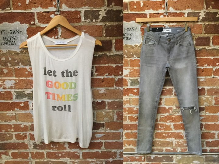 Daydreamer Graphic Tank $88 DL 1961 Emma Jeans $265