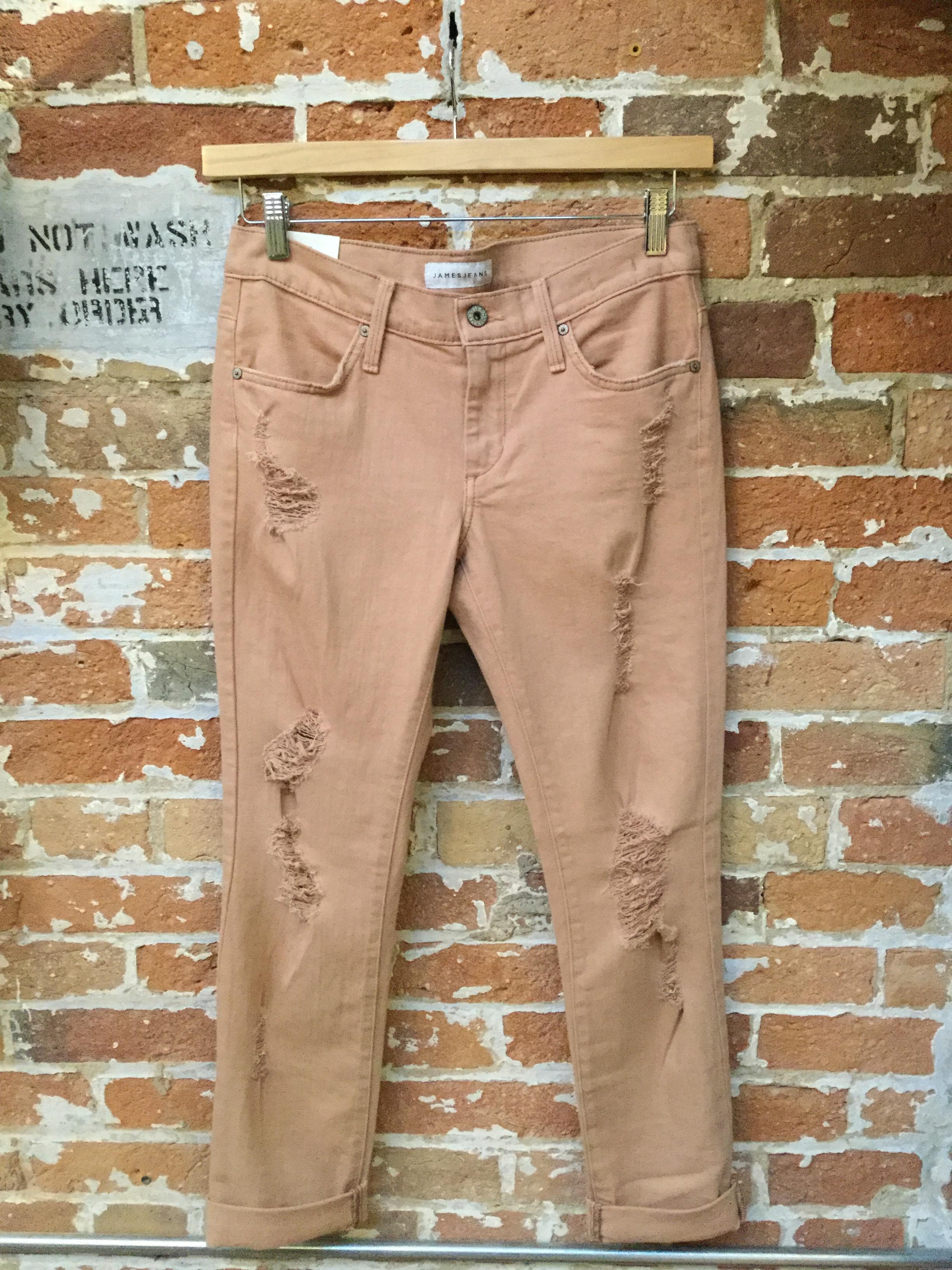 James Jeans Destruction Boyfriend Jeans $288