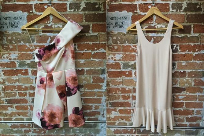 Keepsake Off The Shoulder Floral Dress $320 Tiger of Sweden Ruffle Dress $229