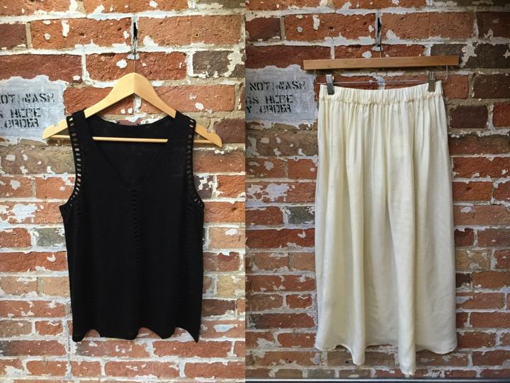 Generation Love tank $178 American Vintage skirt $188