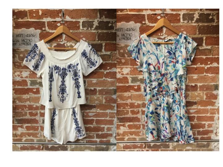Parker Embroidered Romper $298 Parker Silk Dress $368