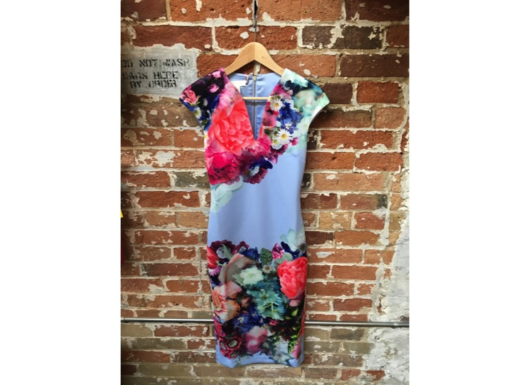 Ted Baker Floral Bodycon Dress $349