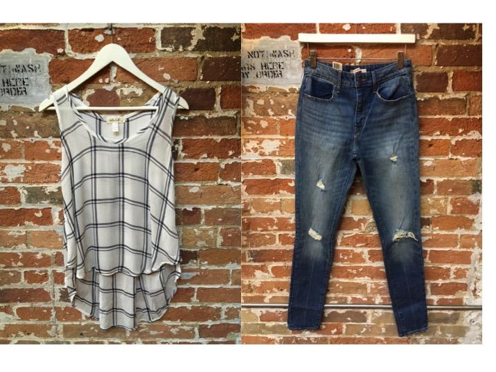 Bella Dahl Tank $120 Levi's Jeans $148