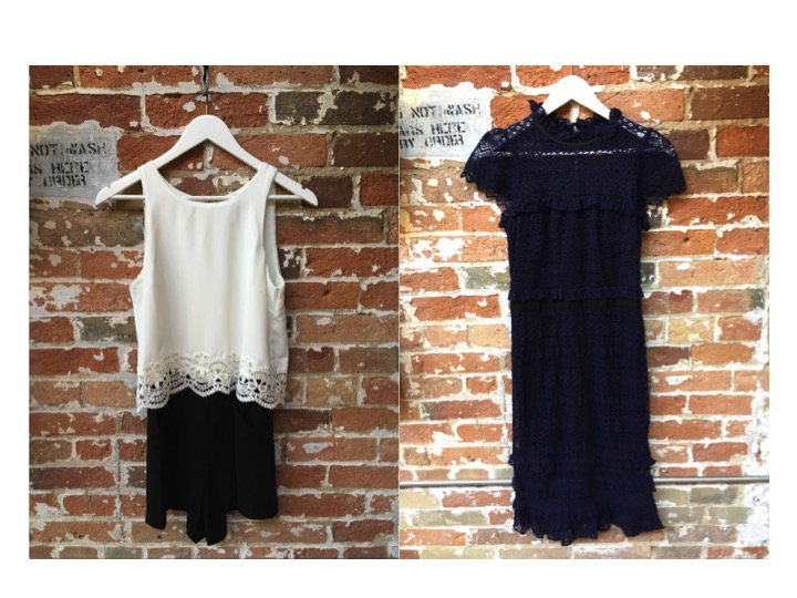 Parker Romper $348 Parker Lace Midi Dress $498