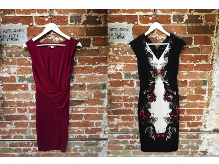 Velvet Stretch Jersey Dress $250 Ted Baker Darnet Bodycon Dress $349