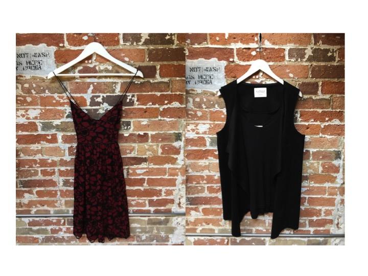 Likely Lace Dress $375 Ecru Suede Vest $230